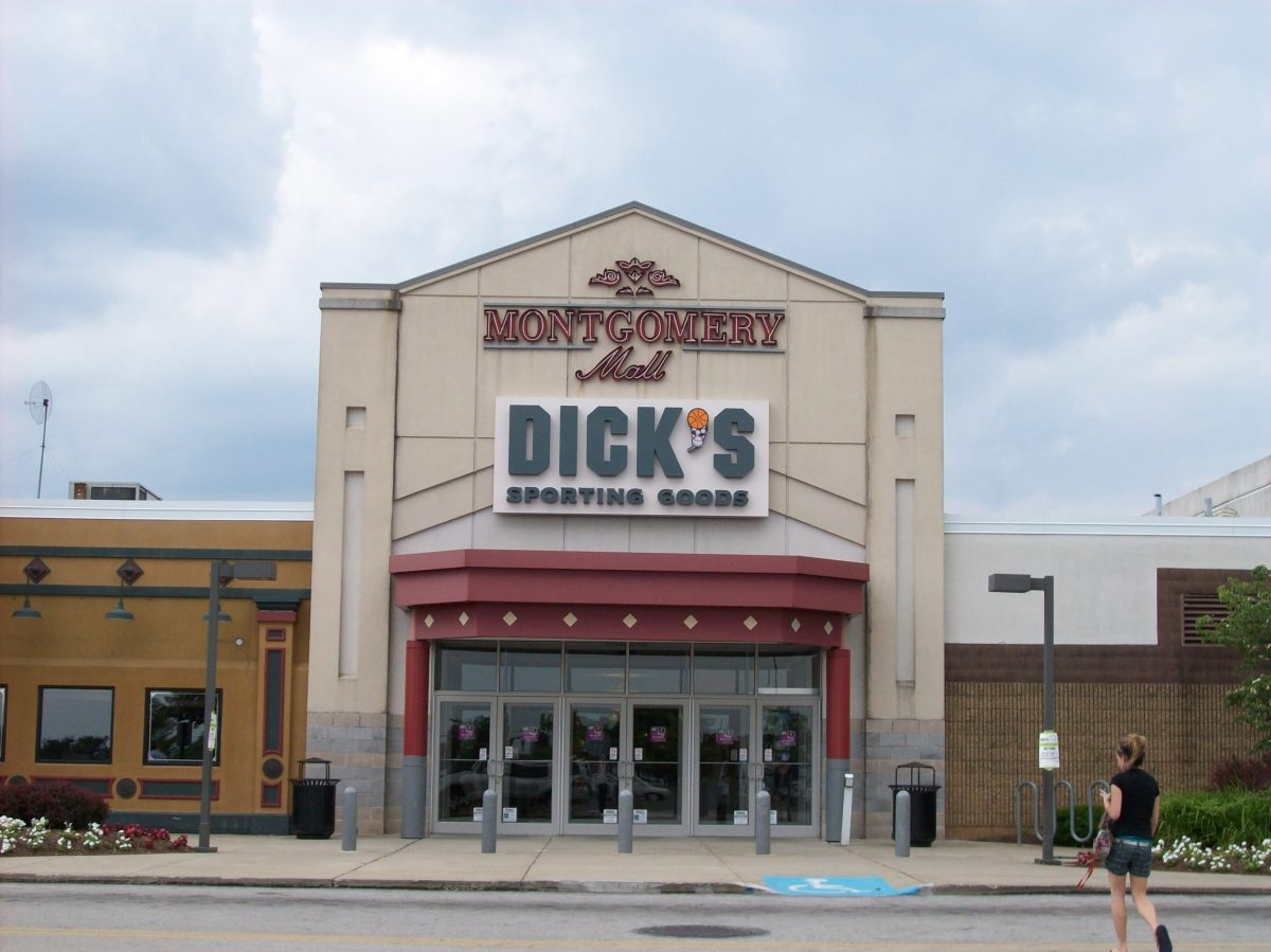 Dicks Sporting Goods signat Montgomery Mall
